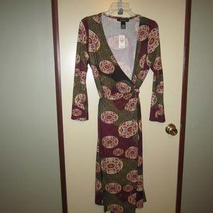 Ashley Stewart Dresses - Ashley Stewart Wrap Dress